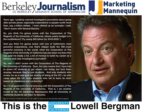 Lowell Bergman, UC Berkeley