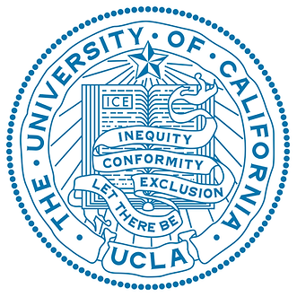 UCLA seal & motto: Let There Be Inequity, Conformity & Exclusion.png