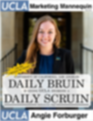 Angie Forburger, UCLA Daily Bruin