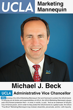 Michael J. Beck, UCLA Administrative Vice Chancellor