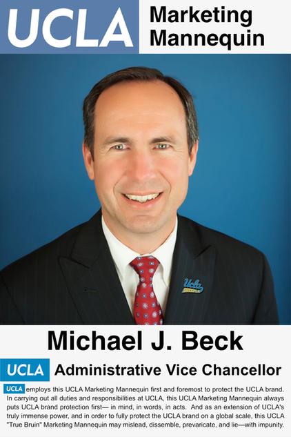Michael J. Beck, UCLA Administrative Vice Chancellor