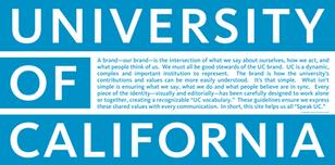 George Orwell's University of California (blue)