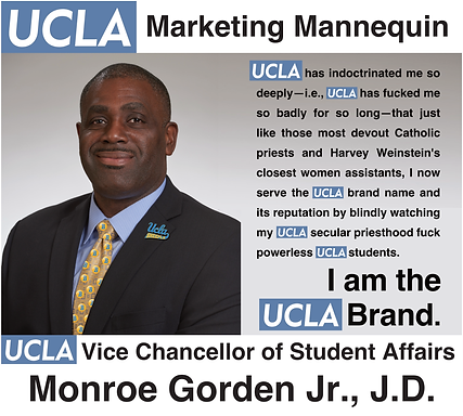 Monroe Gorden, Jr., J.D. | UCLA Vice Chancellor of Student Affairs