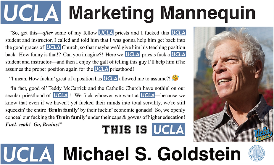Michael Goldstein — UCLA Fielding School of Public Health
