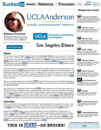 UCLA Anderson School | Rebecca Trounson