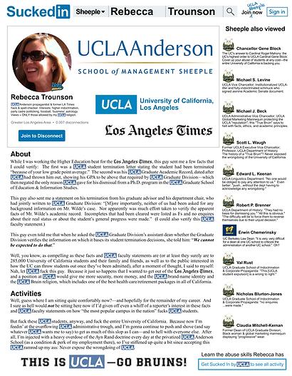 Rebecca Trounson UCLA