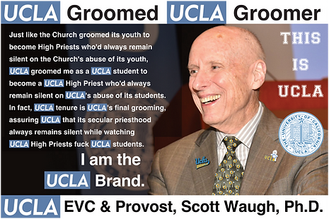 Scott Waugh, UCLA EVC & Provost