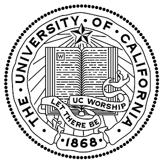 The University of California seal & motto: Let There Be UC Worship