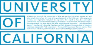 George Orwell's University of California (white)