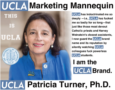 Patricia Turner, Ph.D., UCLA