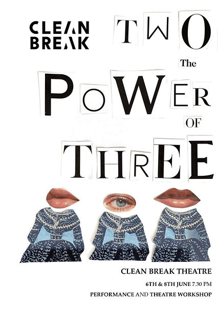 TWO THE POWER OF THREE CLEAN BREAK POSTE