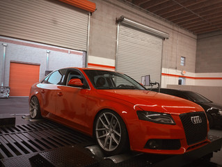 Audi A4 alias SUUCIA +54HP after Dyno Custom Tune