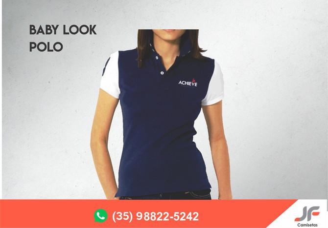 Baby Look Polo Personalizada.