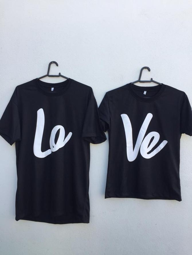 Camisetas Personalizadas LOVE