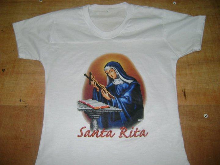 Camiseta de Santo