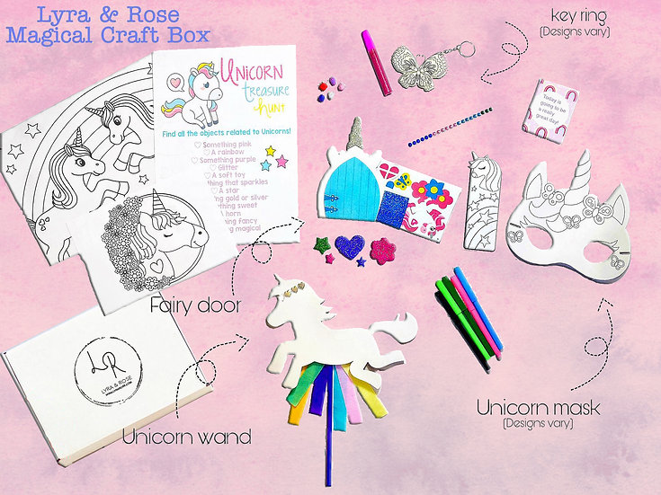 Unicorn Craft Box