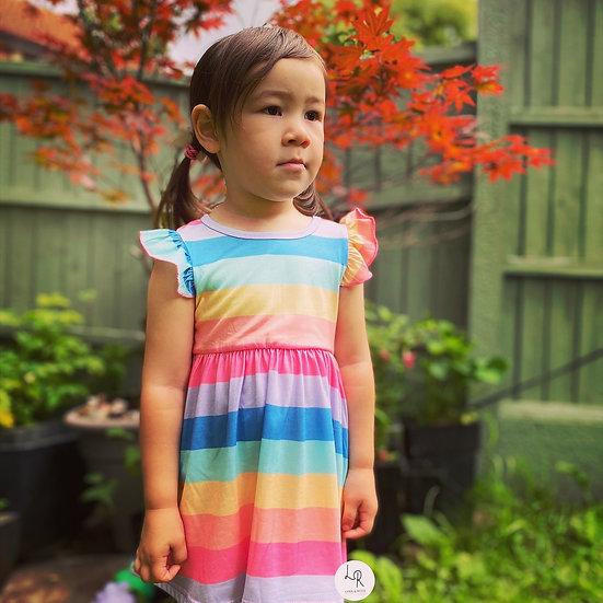Candy-  stripe dress