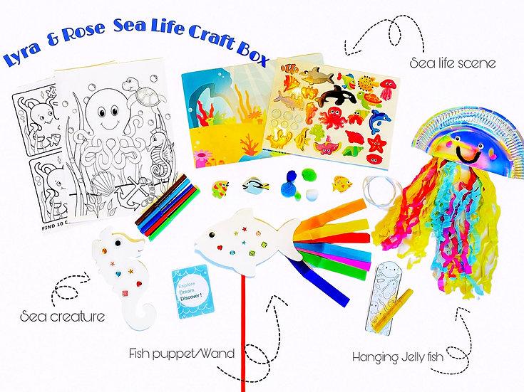 Sea Life Craft Box