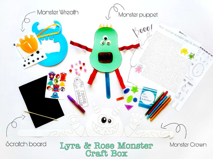 Monster Craft Box