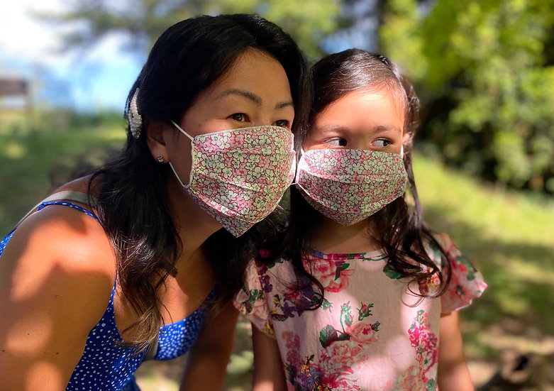Cotton mask (available in adult and child)