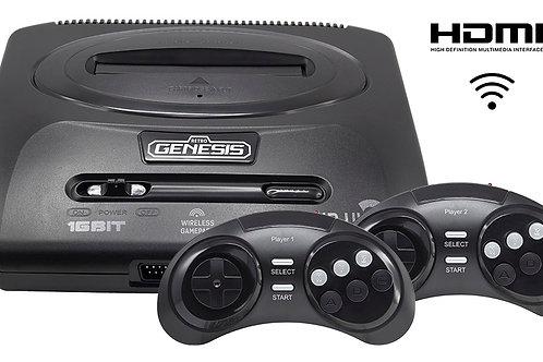 SEGA Retro Genesis HD Ultra 2 + 50 игр (2 беспроводных 2.4ГГц джойстика, HDMI