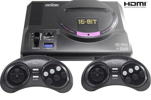 SEGA Retro Genesis HD Ultra + 50 игр (2 беспроводных 2.4ГГц джойстика, HDMI