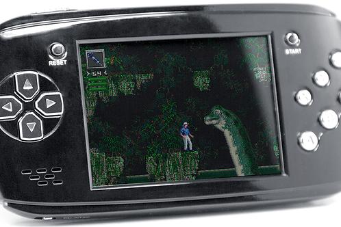 Портативная игровая приставка 16bit DVTech Scout + 9 игр (черная)