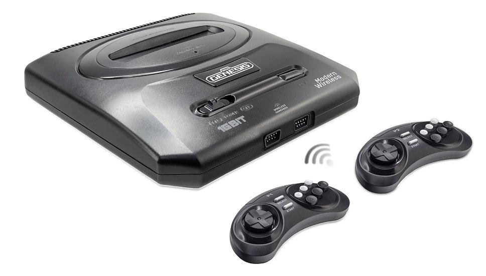 SEGA Retro Genesis Modern Wireless + 170 игр + 2 беспроводных джойстика 2.4ГГц
