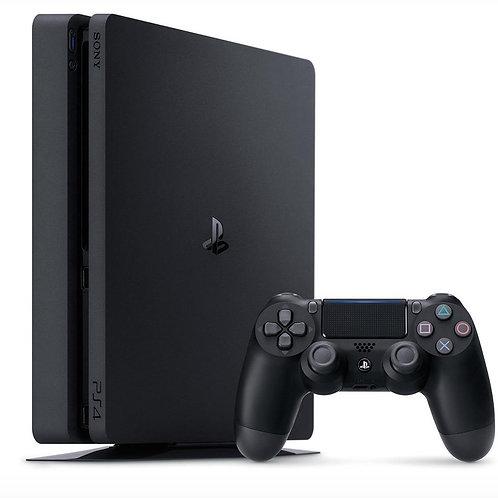 PlayStation 4 1TB Slim (CUH-2208B) + HZD+DET+TLOU+PSN 3мес