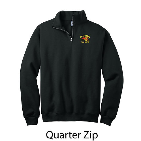1/4 zip Sweatshirt Embroidered