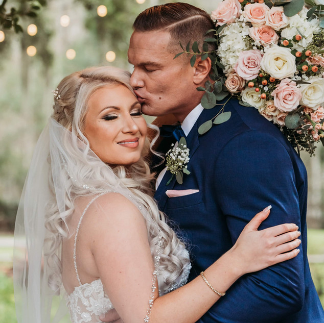 5- Blush and Navy Wedding