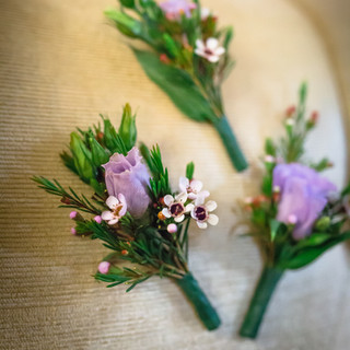 8- Flowers for the Groom