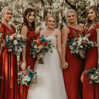 20- Fall Wedding Bouquets