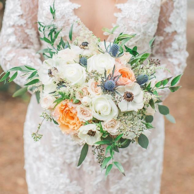 9- Vintage Bridal Bouquet