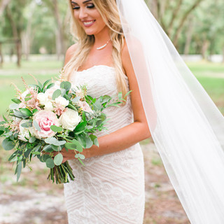 5- Pink and Ivory Wedding
