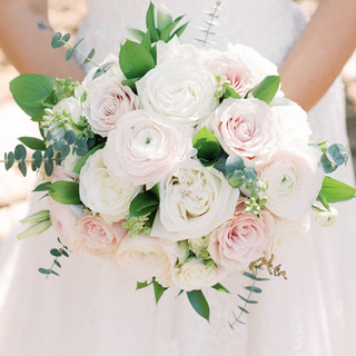 1- Blush and Ivory Bouquet