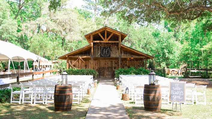 Barn Wedding Venue | Green Cove Springs, Florida