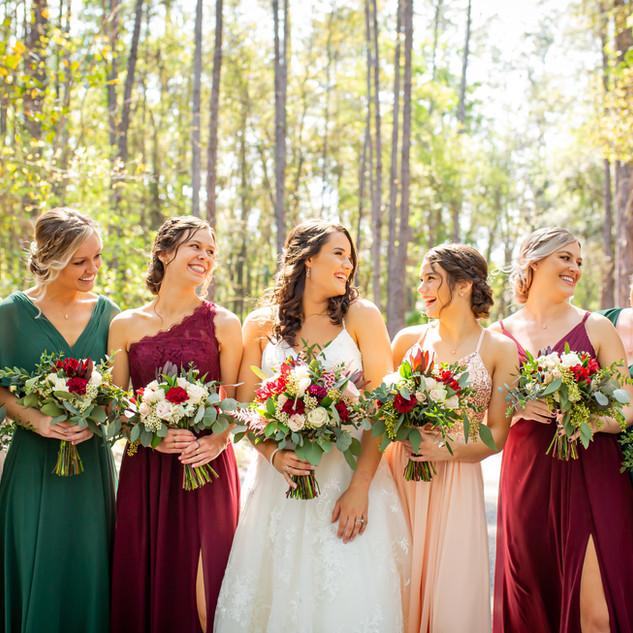 16- Burgundy and Blush Wedding