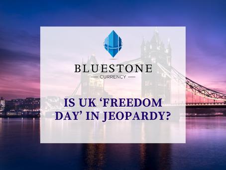 UK Covid Roadmap, is 'Freedom Day' in Jeopardy?
