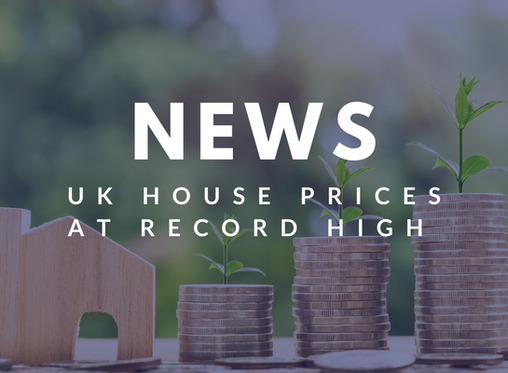 UK house prices reach record high after biggest leap since 2016