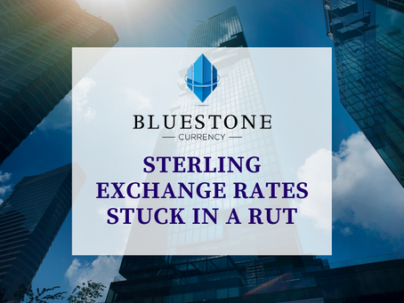 Sterling Exchange Rates Stuck In A Rut
