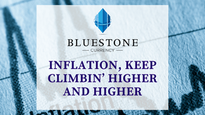 Inflation, keep climbin' higher and higher
