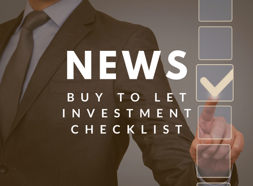 The 'Buy To Let' Checklist