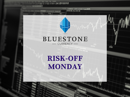Risk-off Monday