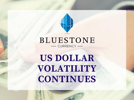 US Dollar Volatility Continues