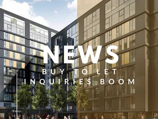 Buy-to-let inquiries boom as landlords swoop on stamp duty break!