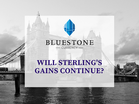 Will Sterling's Gains Continue?