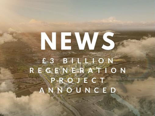 £3 billion regeneration masterplan announced