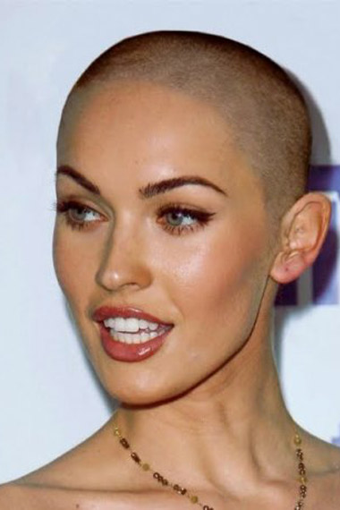 Megan Fox Buzz Cut