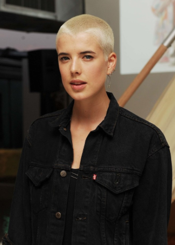 Agyness Deyn Buzz Cut